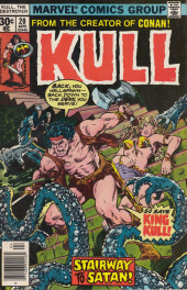 Couverture de Kull the Destroyer (1973) -20- The hell beneth atlantis