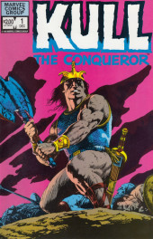 Kull the Conqueror Vol.2 (Marvel comics - 1982) -1- The power and the kingdom