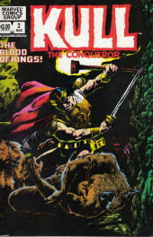 Kull the Conqueror Vol.2 (Marvel comics - 1982) -2- The blood of the kings
