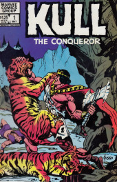 Kull the Conqueror Vol.3 (Marvel comics - 1983) -1- Eye of the tigress