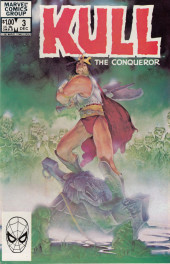 Kull the Conqueror Vol.3 (Marvel comics - 1983) -3- Dead men of the deep