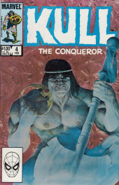 Kull the Conqueror Vol.3 (Marvel comics - 1983) -4- A season of black death
