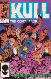 Kull the Conqueror Vol.3 (Marvel comics - 1983) -7- Masquerade