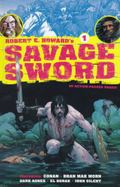 Robert E. Howard's savage sword (2010) -1- Robert E. Howard's savage sword #1