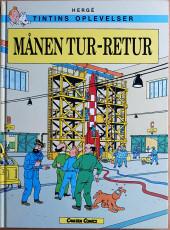 Tintin (en langues étrangères) -16Suédois- Manen Tur-Retur