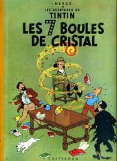 Tintin (Historique) -13B20bis- Les 7 boules de cristal