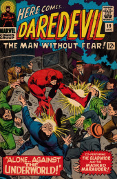 Daredevil Vol. 1 (Marvel - 1964) -19- Alone... Against the Underworld