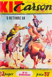 Kit Carson -61- Kit Carson et les Sioux belliqueux