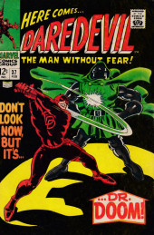 Daredevil Vol. 1 (Marvel - 1964) -37- Don't look now, but it's... Dr. Doom