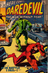 Daredevil Vol. 1 (Marvel - 1964) -50- If in Battle I Fail...!