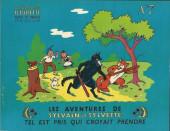 Sylvain et Sylvette (01-série : albums Fleurette) -7- Tel est pris qui croyait prendre