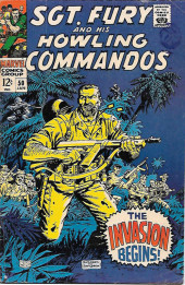Sgt. Fury and his Howling Commandos (Marvel - 1963) -50- The invasion begins !