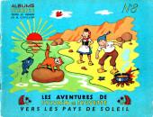 Sylvain et Sylvette (01-série : albums Fleurette) -8a54- Vers le pays de soleil