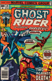 Ghost Rider Vol.2 (Marvel comics - 1973) -20- Two against death