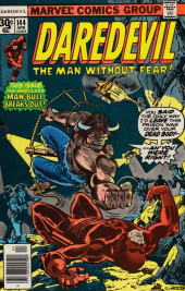 Daredevil Vol. 1 (Marvel - 1964) -144- Man-Bull means mayhem