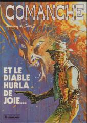 Comanche -9a1982- Et le diable hurla de joie...