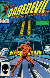 Daredevil Vol. 1 (Marvel - 1964) -208- The deadliest night of my life