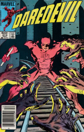 Daredevil Vol. 1 (Marvel - 1964) -213- War on Micah Synn II: The blindness men wish for