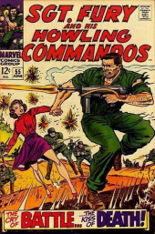Sgt. Fury and his Howling Commandos (Marvel - 1963) -55- The Cry of Battle, the Kiss of Death !