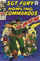 Sgt. Fury and his Howling Commandos (Marvel - 1963) -56- Gabriel, Blow Your Horn !