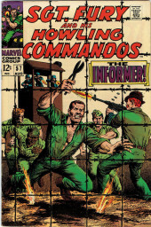 Sgt. Fury and his Howling Commandos (Marvel - 1963) -57- The Informer !