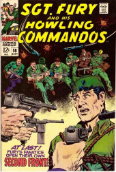 Sgt. Fury and his Howling Commandos (Marvel - 1963) -58- At last ! Fury's fanatics open their own second front !