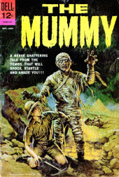 Movie Classics (Dell - 1962) -537- The Mummy