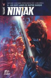 Ninjak -5- Les Sept Lames de Maître Darque