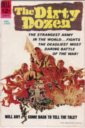 Movie Classics (Dell - 1962) -180- The Dirty Dozen