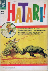 Movie Classics (Dell - 1962) -340- Hatari!