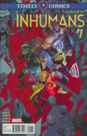 All-New Inhumans (2016) -HS- Timely Comics: All-New Inhumans No. 1