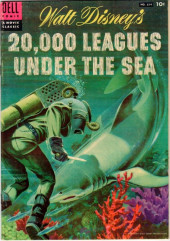 Four Color Comics (Dell - 1942) -614- Walt Disney's 20,000 Leagues Under the Sea