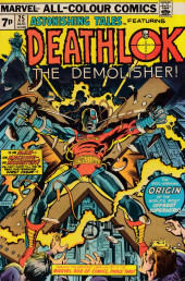 Astonishing tales Vol.1 (Marvel - 1970) -25UK- A cold knight frezy