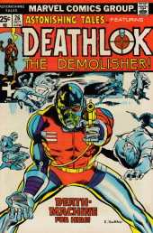 Astonishing tales Vol.1 (Marvel - 1970) -26- Death-Machine For Hire!