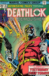 Astonishing tales Vol.1 (Marvel - 1970) -31- Yesterday Dies Today!