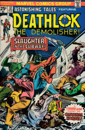 Astonishing tales Vol.1 (Marvel - 1970) -32- Slaughter in the Subway!