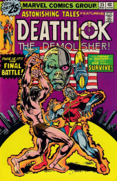 Astonishing tales Vol.1 (Marvel - 1970) -35- The Final Battle!