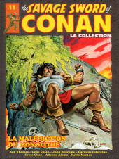 Conan (The Savage Sword of) - La Collection (Hachette) -11- La malédiction du monolithe