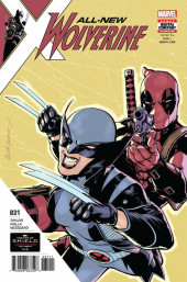 All-New Wolverine (2016) -31- Honey Badger & Deadpool