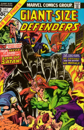Giant-Size defenders (1974) -2- H as in Hulk, hell and holocaust