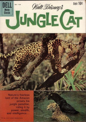 Four Color Comics (Dell - 1942) -1136- Jungle Cat