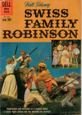 Four Color Comics (Dell - 1942) -1156- Swiss Family Robinson