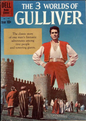 Four Color Comics (Dell - 1942) -1158- The 3 Worlds of Gulliver