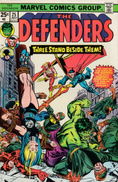 Defenders (The) (1972) -25- THe serpent sheds its skin