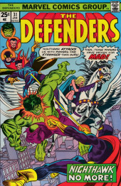 Defenders (The) (1972) -31- Nighthawk's brain