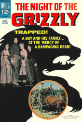 Movie Classics (Dell - 1962) -558- The Night of the Grizzly