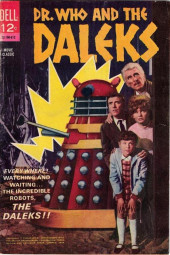 Movie Classics (Dell - 1962) -190- Dr. Who and the Daleks