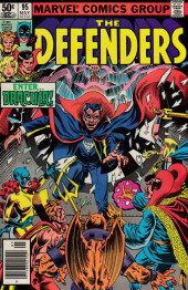 Defenders (The) (1972) -95- The vampire strikes back