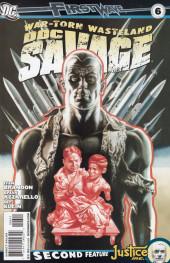 Doc Savage Vol.3 (DC Comics - 2010) -6- War-Torn Wasteland