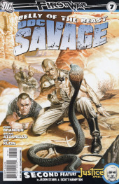 Doc Savage Vol.3 (DC Comics - 2010) -7- Belly of the beast